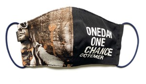 【COTEMER マスク 日本製】ONE DAY ONE CHANCE BAND MASK 0519-132