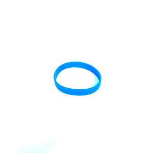 ラバー ブレス ブレスレット ブルー 青 BLUE 夏フェス 356