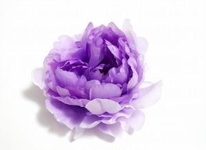 ヘアコサージュ(造花)*ピオニー01*ラベンダー