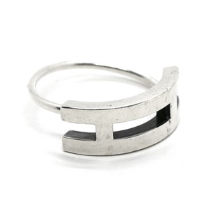 Hermès Vintage Sterling Silver Key Ring