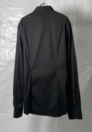 2000s MIUMIU DARTED DRESS SHIRT