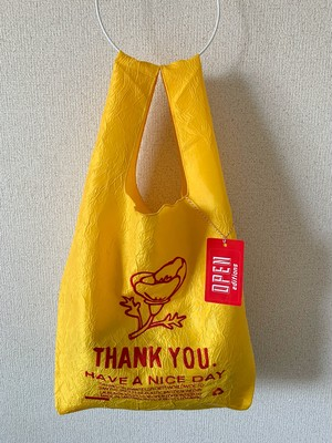 【OPEN EDITIONS / 送料無料】THANK YOU TOTE エコバッグ/ POPPY Yellow