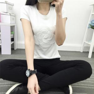 【再入荷】全2色カメリアTシャツ