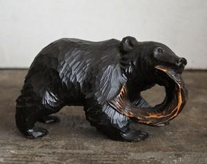 木彫りの熊/堀井熊