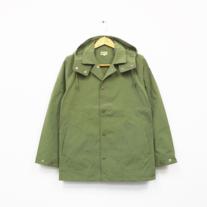 COACHES JACKET (GREEN)