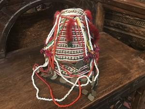 タイの山岳民族 アカ族の帽子
