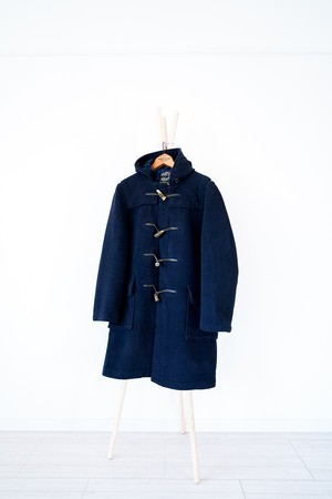 "【1970s】""Gloverall"" Wool Duffle Coat / v414"