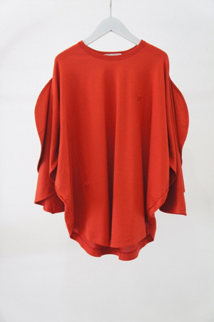 MICKEY SHILOUETTE TEE -RED- / MAISON CIRCLE by ANREALAGE