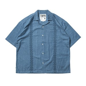 TIGHTBOOTH ENCORE DENIM SHIRT Wash L タイトブース シャツ