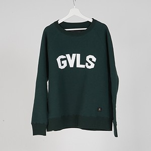"L/S SWEAT ""GVLS"" (GREEN) / GAVIAL"