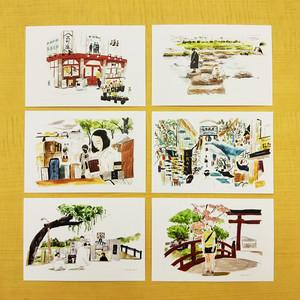 出町座オリジナルポストカード 第1期 6枚セット