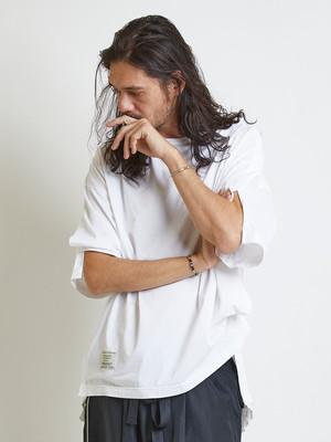 EGO TRIPPING (エゴトリッピング) DISMANTLE TEE ディスマントルTシャツ / WHITE 663852-00