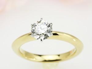 1ctのダイヤモンドのリングリフォーム