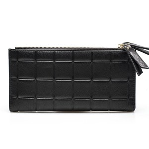 PU Leather Wallet Long Wallet Clutch Zipper ロング レザー 財布 パスケース ウォレット (HF99-2197373)