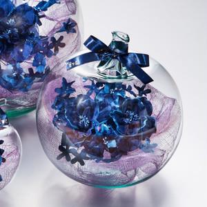 藍染花りんご中