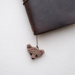 くまのチャーム(かぎ針編み)