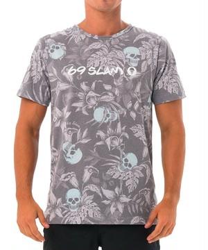 【20SS 新作】【69SLAM】水陸両用 ロックスラム メンズ ラッシュ WILD GARDEN BLUE Tシャツ / MTXWGN-BL