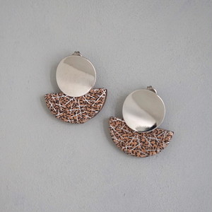 pierced earrings C-P27/earrings C-E27<silver>