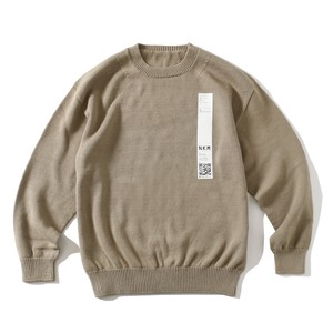 crepuscule FOR SO NAKAMEGURO TENJIKU LONG SLEEVE KNIT(BEIGE)
