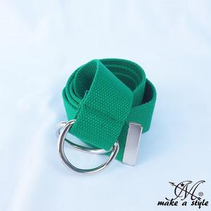 D-RING Dリング ダブルリング キャンバス ベルト グリーン 緑 B系 ストリート系 ヒップホップ 274