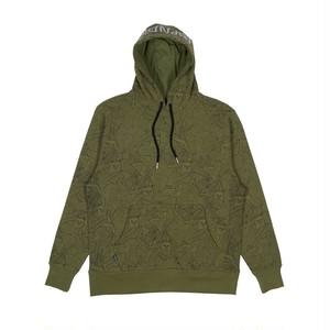 RIPNDIP - Nermal Leaf 3M Reflective Hoodie (Olive Green)