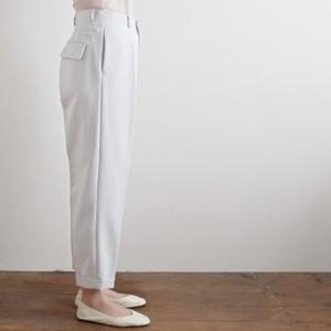 "【the Sale!  50%off 】jens イェンス ""slacks"" テーパードパンツ light grey"