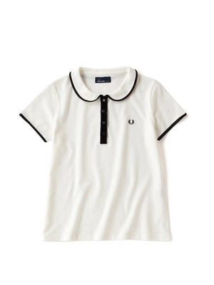 FRED PERRY(フレッドペリー) F5258Round Collar Pique Shirt SIZE8(S)