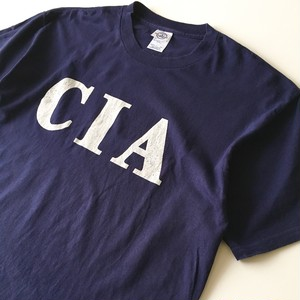 DELTA PRO WEIGHT: 「CIA」 print Tee (used)