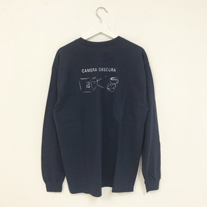TRASH L/S TEE(NAVY)