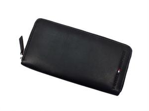 トミー ヒルフィガー TOMMY HILFIGER ラウンドファスナー 長財布 0091-4909-01 (31TL13X015-100) ブラック ブラック