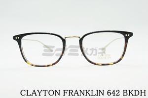 【正規取扱店】CLAYTON FRANKLIN(クレイトンフランクリン) 642 BKDH