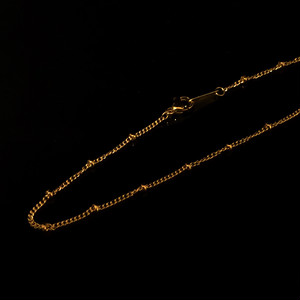Crimp Bead chain 40/45cm