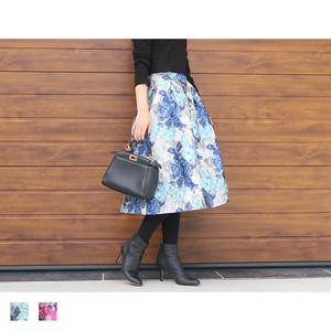花柄スカート|M05001