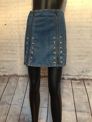 STARジップアップスカート