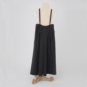 folk made antique burberry suspenders pants  Lサイズ (black)  F21AW-014
