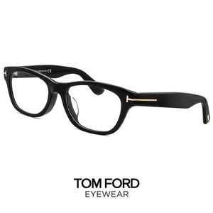 トムフォード メガネ ft5425-f/v 001 TOM FORD 眼鏡 アジアンフィットモデル 黒ぶち ウェリントン型 メンズ 黒縁