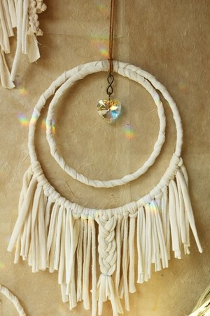 dream suncatcher  **heart