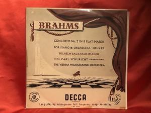 バックハウス ブラームス協奏曲2番