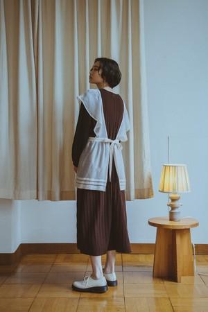 YUKISHIMANE Pleats Jacquard knit dress