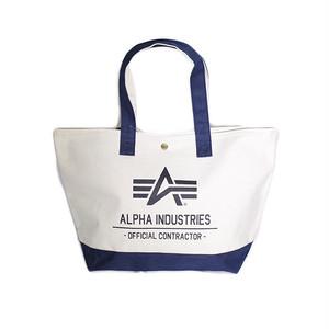 アルファインダストリーズ ALPHA INDUSTRIES トートバッグ メンズ レディース 40105-NANV ベージュ ネイビー 国内正規
