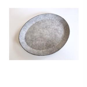いにま陶房 薄白化粧オーバルプレート