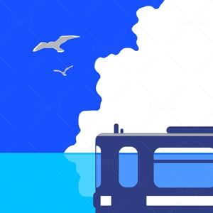DL用 鉄道のある風景 ただいま