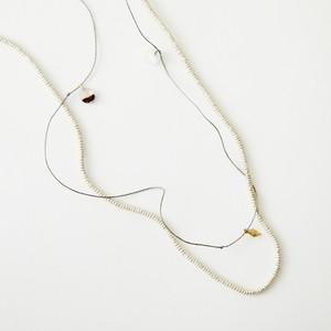 ネックレス -SILVER-  BEADS