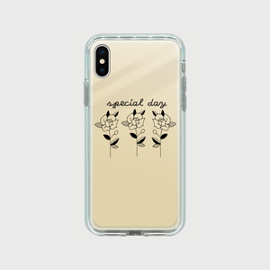 special day mirror case (gold / iPhoneX/XS)