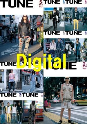 eBook- TUNE magazine No.031 ~ No.040 set