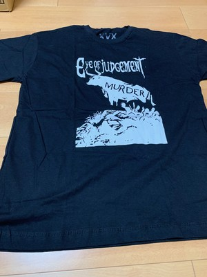Veganxmerch EYE OF JUDGEMENT T-shirt GG(XL)