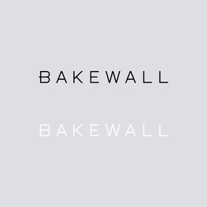 BAKEWALL LOGO CUTTING STICKER 【 S 】