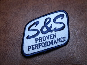 S&S PROVEN PERFORMANCE Vintage Patch Square