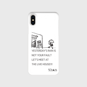 iPhone X/XS対応【than / LET'S MEET AT THE LIVE HOUSE!!!】than original phone case