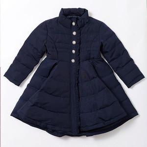 ドレス中綿コート